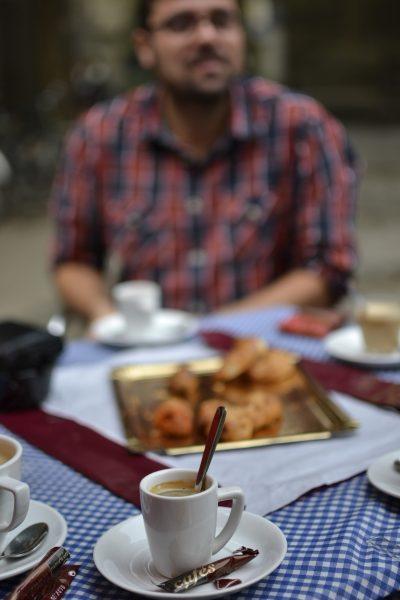 Kava Švento Petro aikštėje