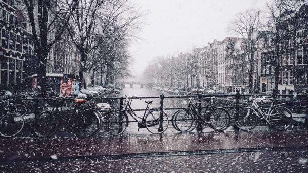 Žiema Amsterdame