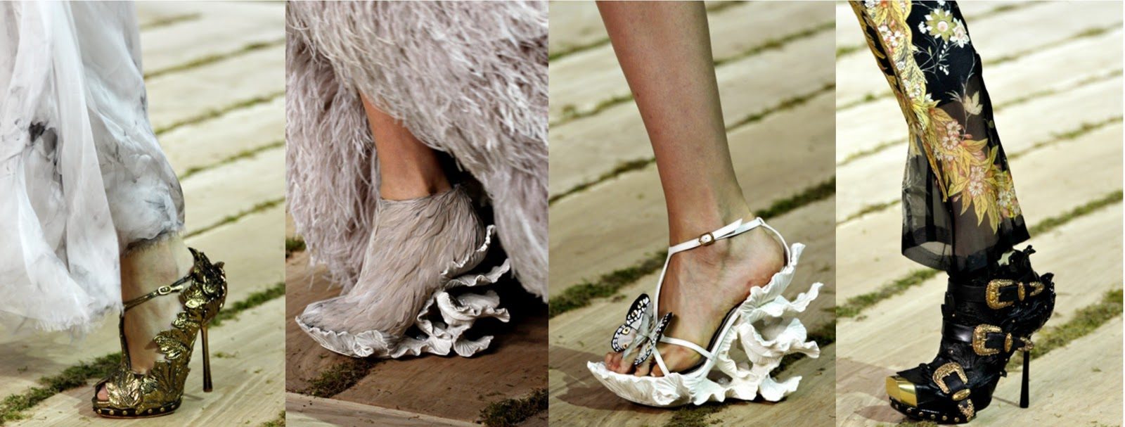 la modella mafia alexander mcqueen shoes ss11 via style